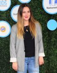 Drew Barrymore at Safe Kids Day