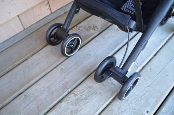 GB Pockit back wheel lock