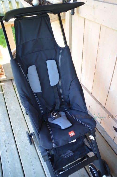 GB Pockit - seat