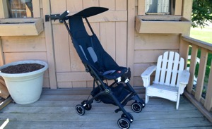 The World's Smallest Folding Stroller ~ GB Pockit Review
