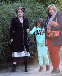 Helena Bonham Carter steps out with daughter Nell