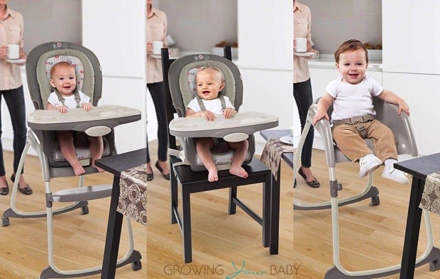 Ingenuity Trio 3-in-1 Ridgedale High Chair  sc 1 st  Growing Your Baby & Ingenuity Trio 3-in-1 Ridgedale High Chair - Growing Your Baby