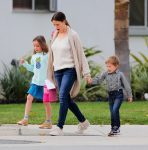 Jennifer Garner steps out with Seraphina and Sam
