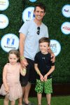 Joey McIntyre at Safe Kids Event with kids Griffin and Kira