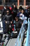 Kourtney Kardashian and son Mason with ex-boyfriend Scott Disick and sister Kim in Vail