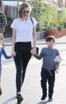 Miranda Kerr steps out with son Flynn Bloom in LA