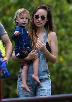 Olivia Wilde Spends The Day With her Son On The Beach In Maui