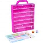 Pink Shopkins collectors case