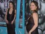 Pregnant Erika Christensen at the premiere of Confirmation 1