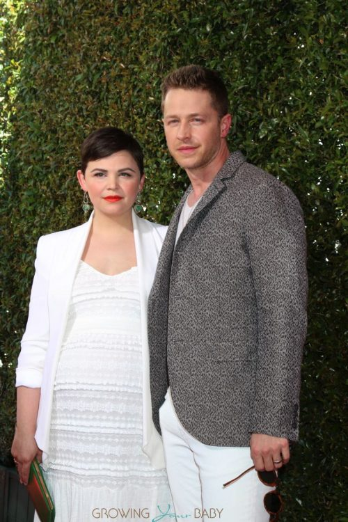 Pregnant Ginnifer Goodwin and Josh Dallas at John Varvatos 13th Annual Stuart House Benefit
