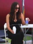 Pregnant Megan Fox at the Market