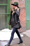 Pregnant Nicky Hilton out in NYC