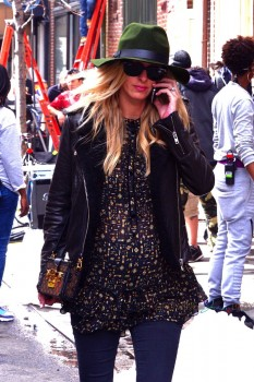 Pregnant Nicky Hilton out in New York City
