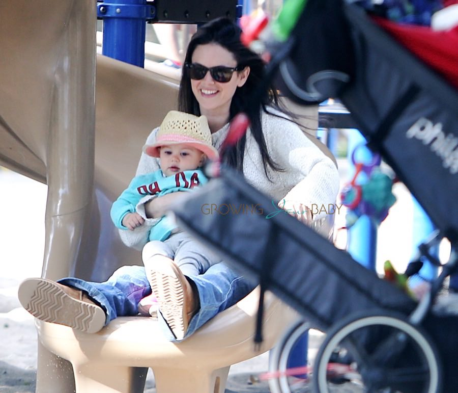 Rachel Bilson Takes Daughter Briar to the Park in LA