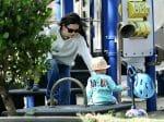 Rachel Bilson Takes Daughter Briar to the Park in LA