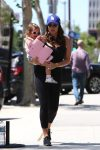 Tamara Ecclestone out in LA with her daughter Sophia