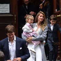 Tom Brady and Gisele Bundchen Attend Church With Their Kids