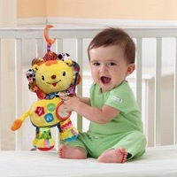 Kids Can Play On-The-Go With The Vtech Baby Crinkle and Roar Lion! {VIDEO}