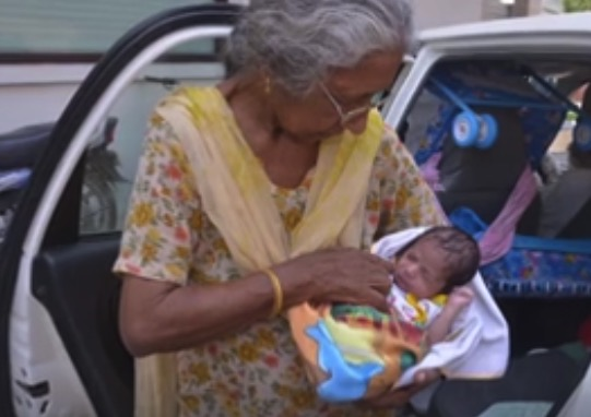 70 year old Daljinder Kaur gives birth