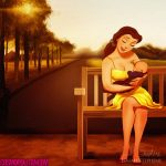 Belle Imagined as a mom