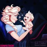 Elsa Imagined as a mom