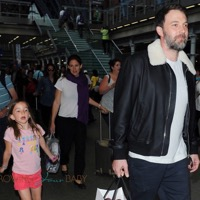 Jennifer Garner And Ben Affleck Arrive In London With Their Kids