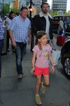 Jennifer Garner & Ben Affleck Arrive In London With Their Kids