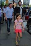 Jennifer Garner & Ben Affleck Arrive In London With Their Kids
