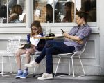 Jennifer Garner and daughter Violet Affleck out in London