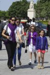 Jennifer Garner tours the Eiffel Tour With Her kids