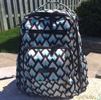 Ju-Ju-Be Be Right Back BackPack Offers Comfort & Style For Busy Parents! {VIDEO}