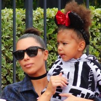 Kim & Kourtney Enjoy Disneyland With Their Kids!