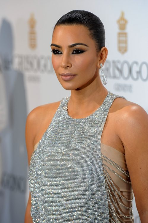 Kim Kardashian at the de Grisogono Party in Cannes France