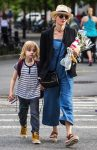 Naomi Watts out in NYC with her son Sam Schreiber
