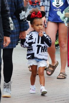 North West at Disneyland