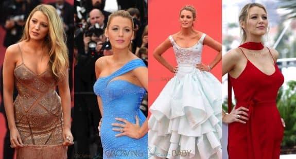 Pregnant Blake Lively 2016 Cannes Film Festival