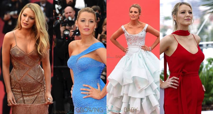 Blake lively shines at cannes film festival growing your baby