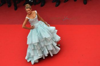 Pregnant Blake Lively arriving at 'Slack Bay' premiere during the 69th Annual Cannes Film Festival in Cannes, France