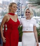 Pregnant Blake Lively attending the 'Cafe Society' photocall with Kristen Stweart during The 69th Annual Cannes Film Festival in Cannes, France
