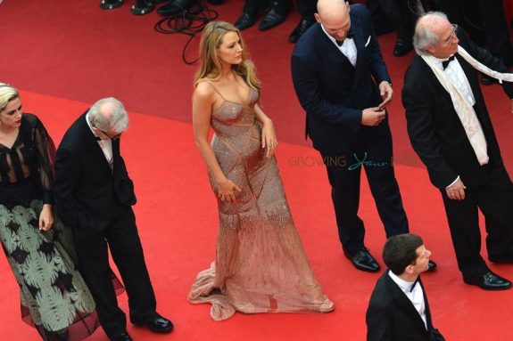 Pregnant Blake Lively attending the screening of 'Cafe Society' and the Opening Ceremony of the 69th Annual Cannes Film Festival in Cannes, France