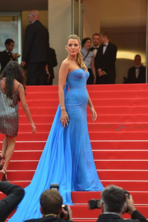 Pregnant Blake Lively attends 'The BFG' film premiere at the 69th Cannes Film Festival In Cannes, Frances