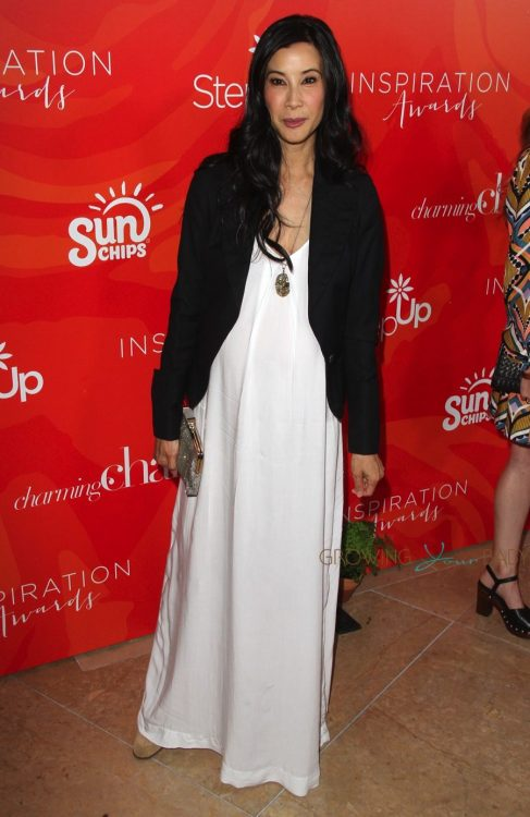 Pregnant Lisa Ling at 13th annual Inspiration Awards to benefit STEP UP