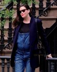 Pregnant Liv Tyler out in the West Village