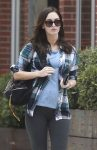 Pregnant Megan Fox Celebrates Birthday With Lunch At Cafe Gratitude