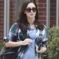 Pregnant Megan Fox Celebrates Her Birthday in LA!