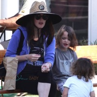 Megan Fox & Brian Austin Green Hit The Park With Their Boys!