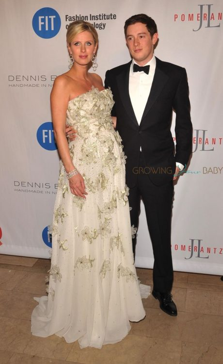 Pregnant Nicky Hilton Rothschild and James Rothschild at the 2016 FIT's Annual Gala in New York city