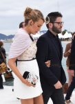 Pregnant actress Blake Lively attends a photocall for 'The Shallows' at the 69th Annual Cannes Film Festival at Plage Majestic Pier in Cannes, France