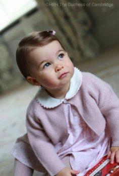 Princess Charlotte 1st birthday pictures taken at Anmer Hall