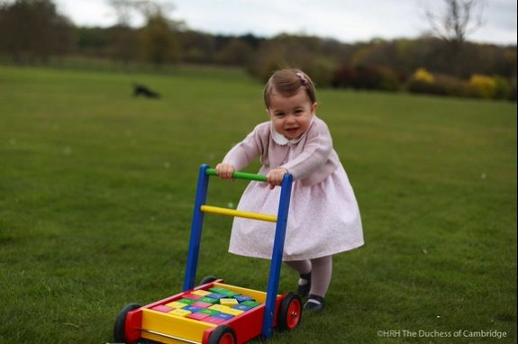 Princess Charlotte's 1st birthday pictures taken at Anmer Hall